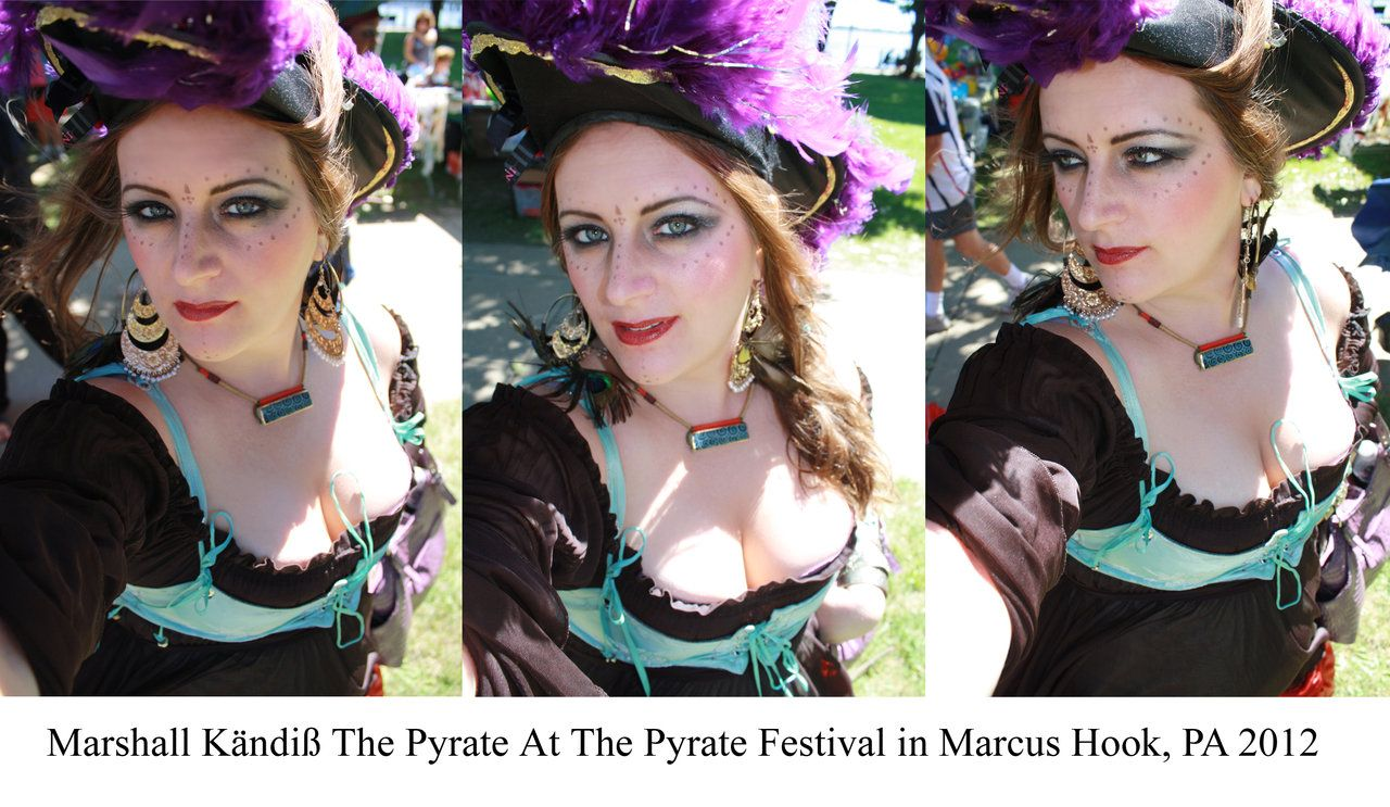 Pirate Festival In Marcus Hook Makeup By Blackunigryphon Deviantart Com On Deviantart Pirate Wench Pirate Wench Tribal Fusion Bellydance Festival