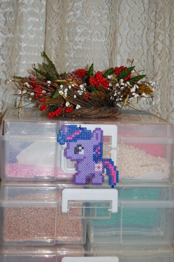 My Little Pony Chibi Twilight Sparkle by AkirasPerlerWorld on Etsy, $5.00