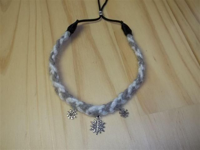 Arctic Wolf Collar Choker Commission by DaybreaksDawn on DeviantArt