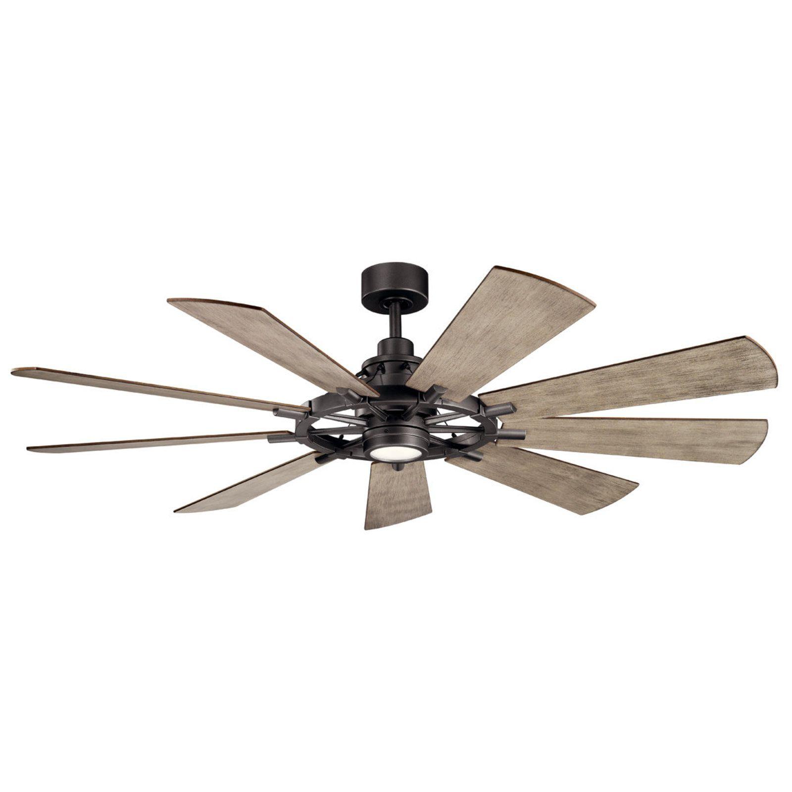 65 Industrial Spoke Ceiling Fan Shades Of Light Led Ceiling Fan Windmill Ceiling Fan Ceiling Fan With Light