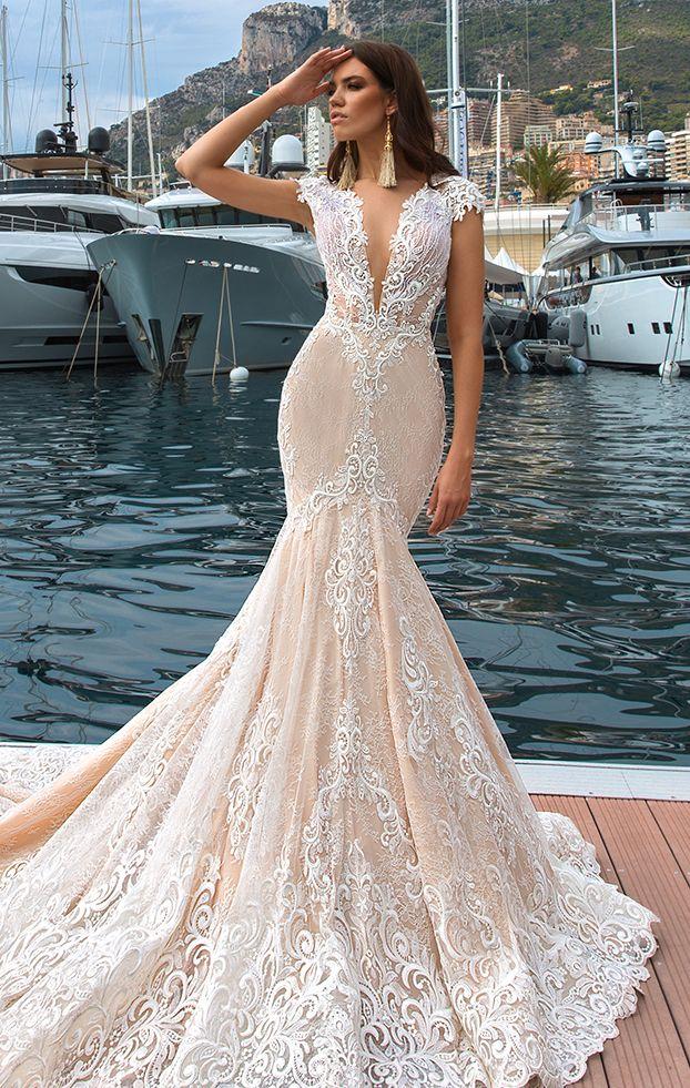 Crystal Design Marchesa Dress A Form Fitting Wedding Dress