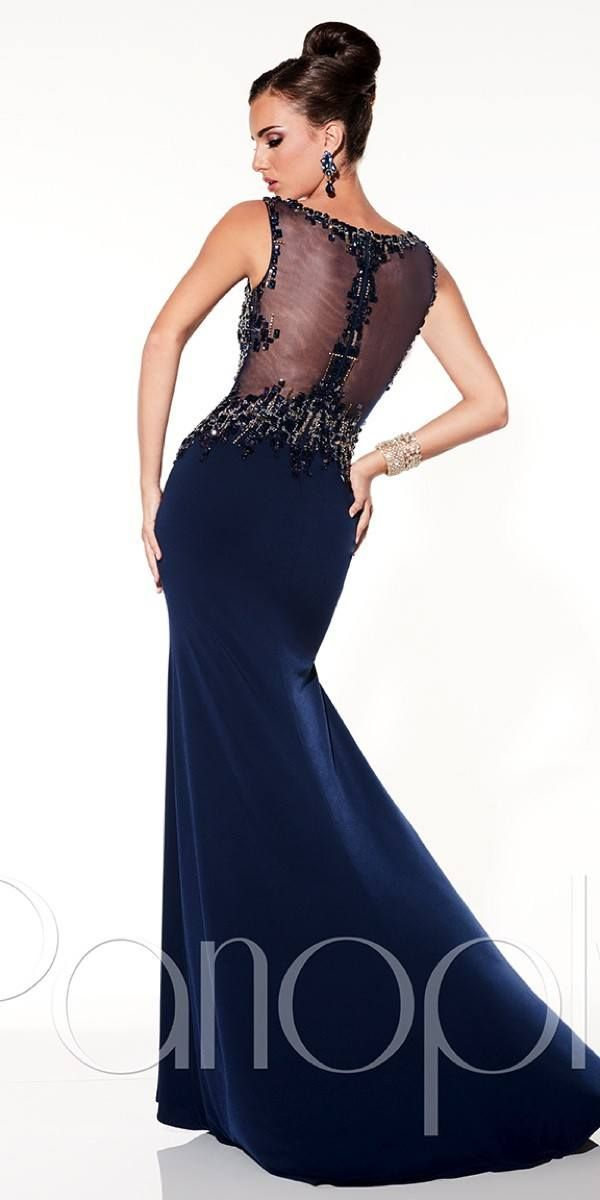 Sexy Fitted Illusion Prom Dress Bridal Formal By Rjs Chelby