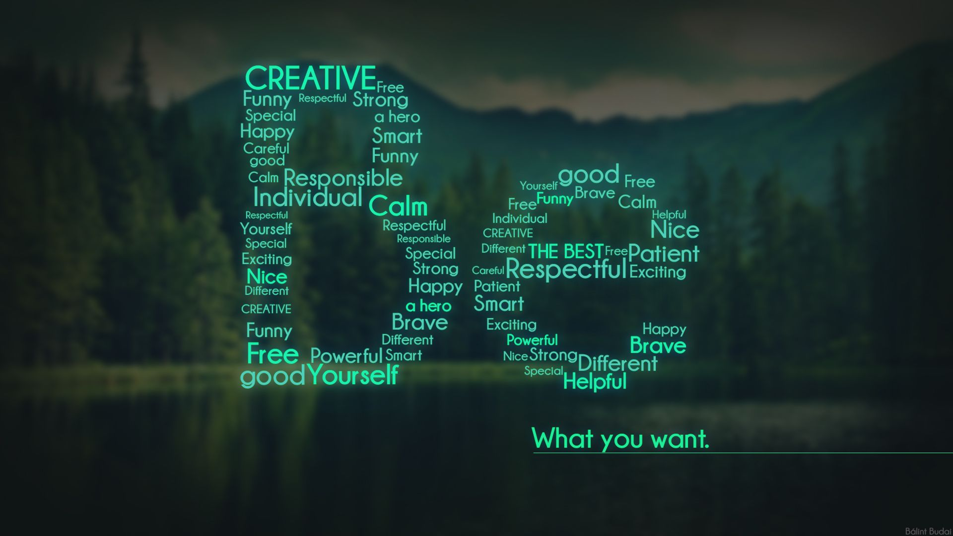 Be What You Want Hd Web Design Design Cool Wallpaper