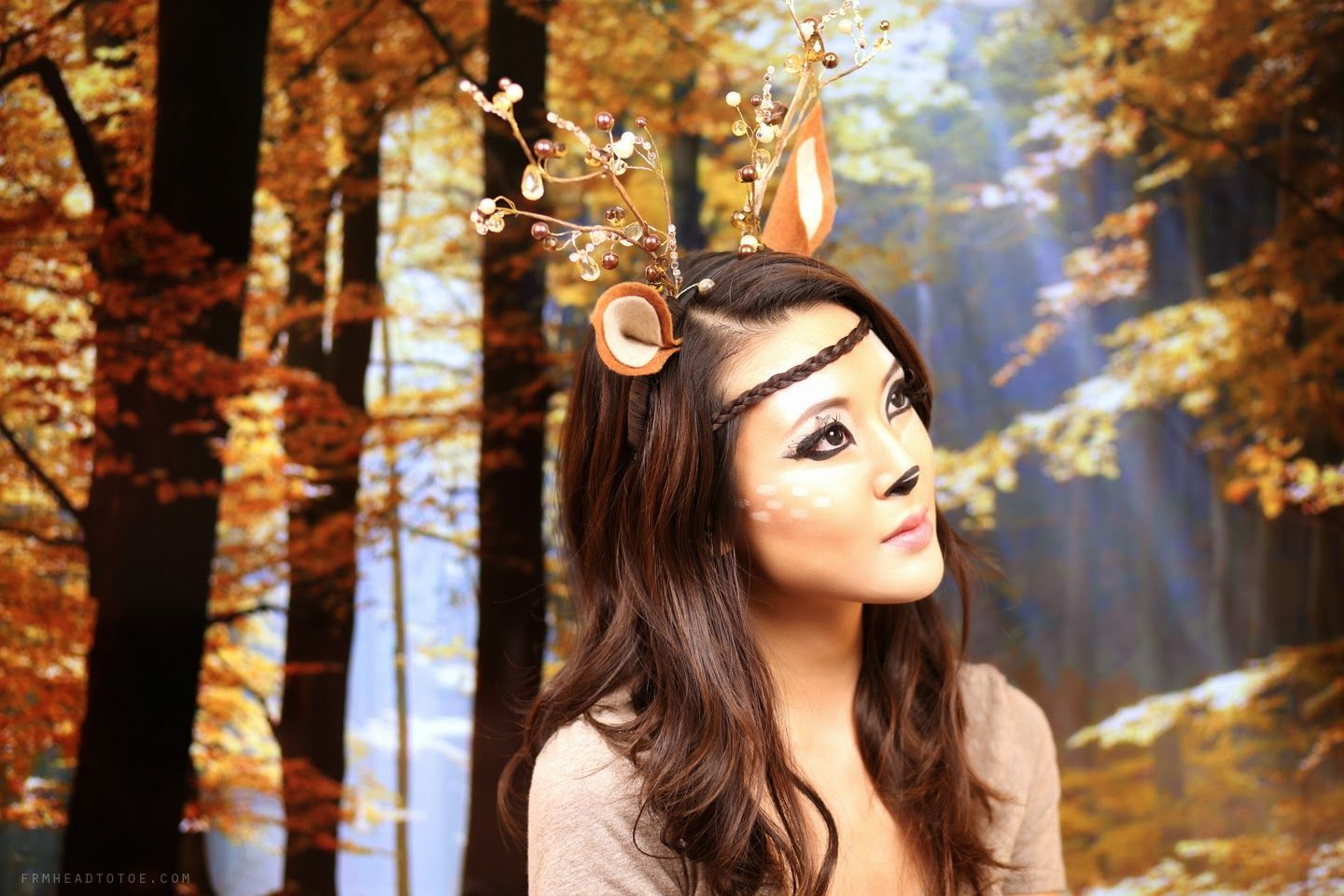 deer costume | you are looking for a DIY costume here is my interpretation of  sc 1 st  Pinterest : deer costume diy  - Germanpascual.Com