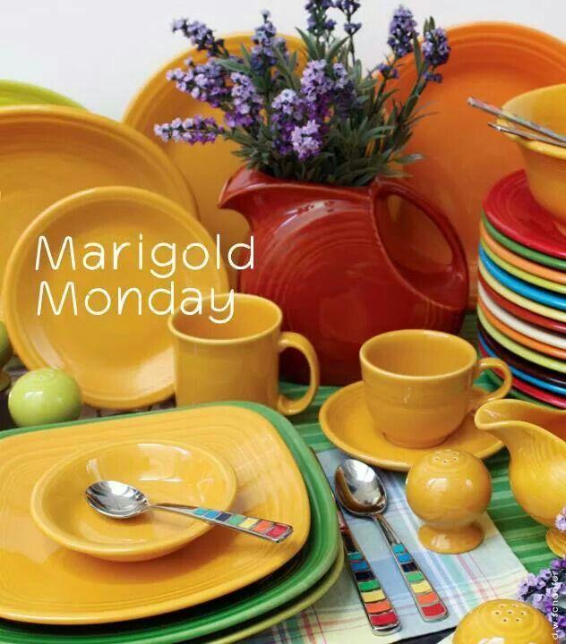 Dinnerware · Fiestaware Marigold goes with everything  sc 1 st  Pinterest & Fiestaware Marigold goes with everything   Fiesta® / Homer Laughlin ...