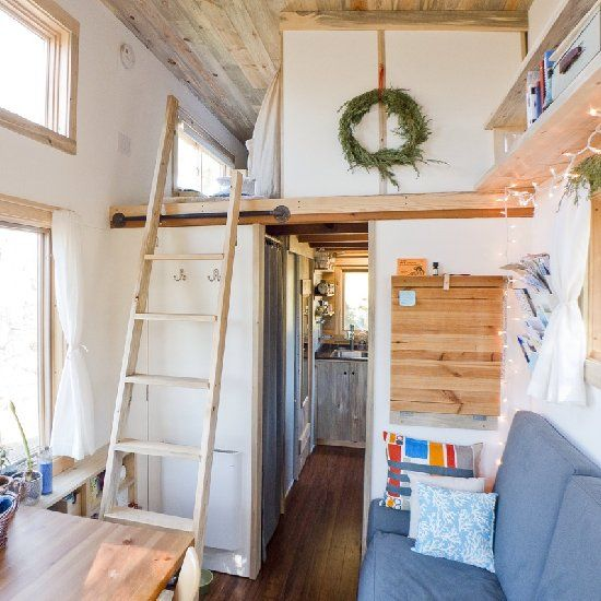 California web designer Alek Lisefski was sick of paying high rent prices, and decided to use $30,000 to build his own tiny home.