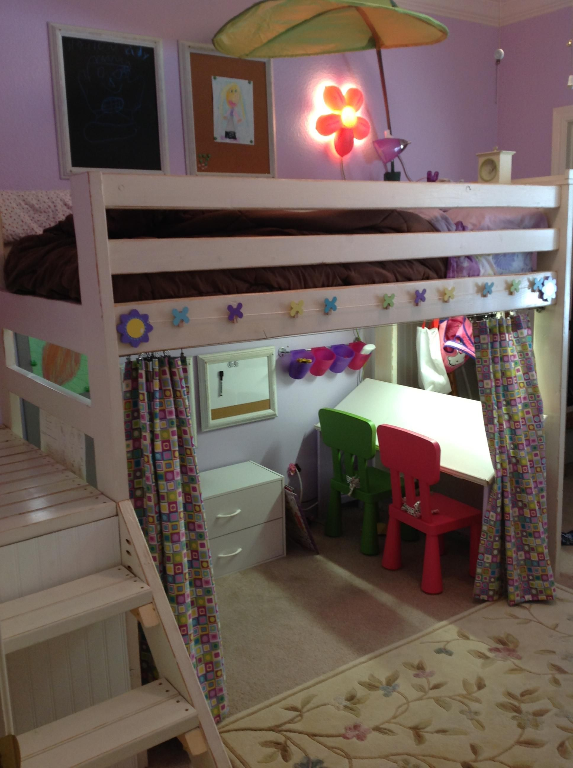 Art Studio Loft Bed Do It Yourself Home Projects From
