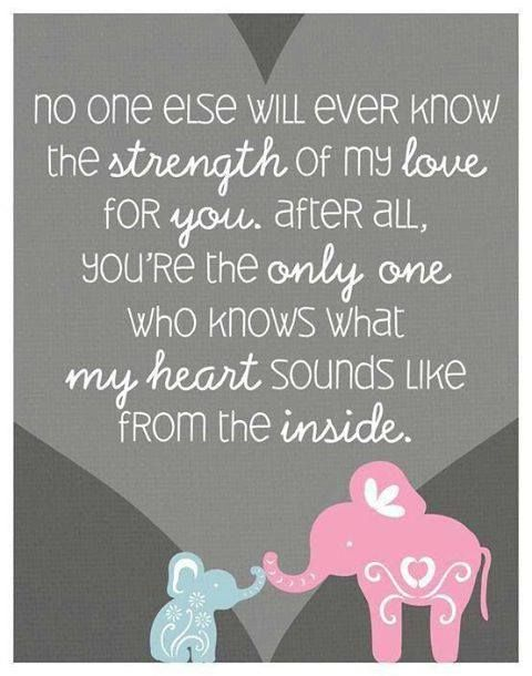 The Strength of my Love  Mother Child Bond  Attachment