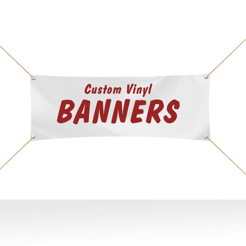 Same Day Vinyl Banner Printing In Nyc Area Vinyl Banners Vinyl Banner Printing Custom Vinyl Banners