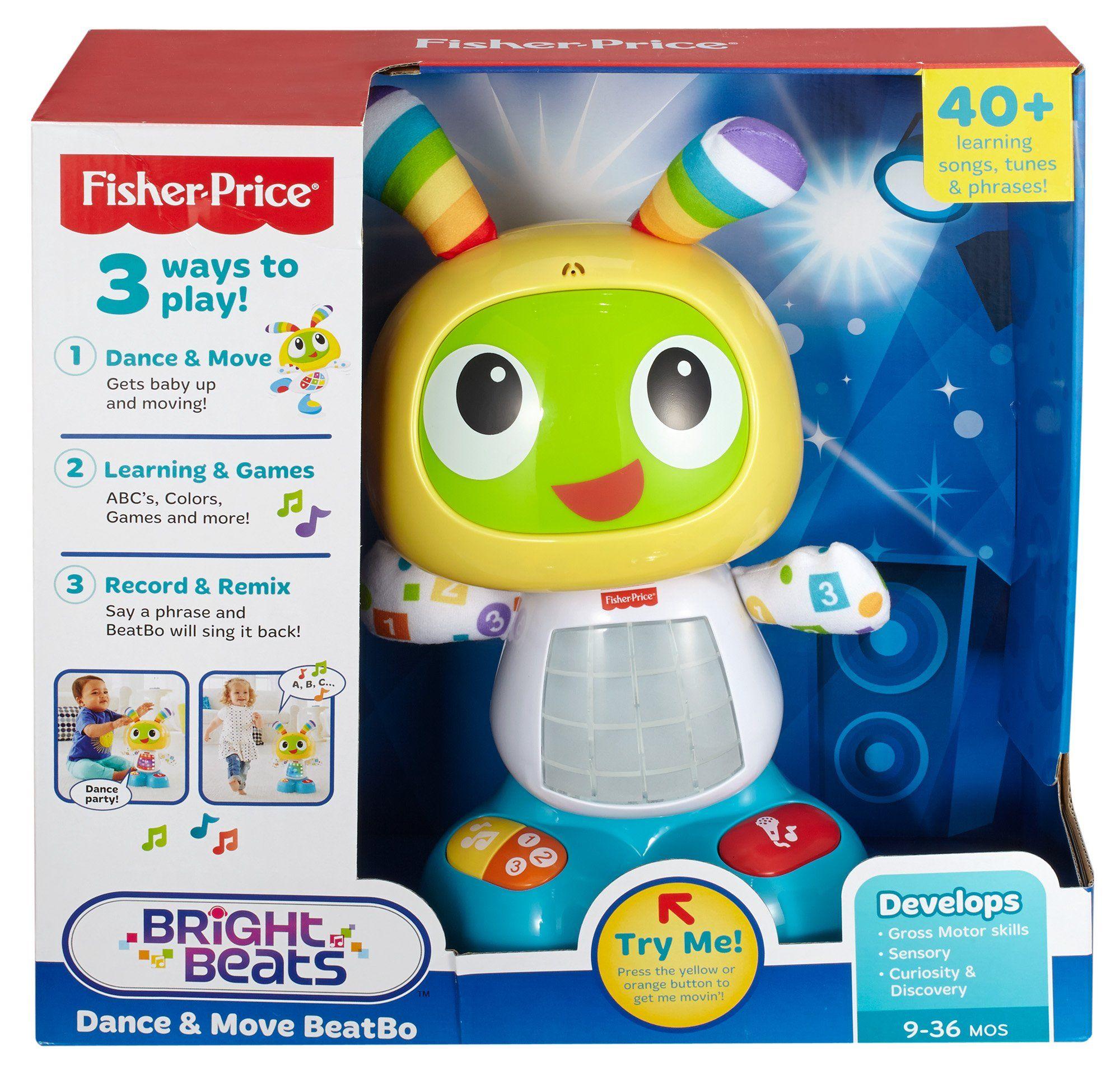 Amazon Fisher Price Bright Beats Dance & Move BeatBo Toys