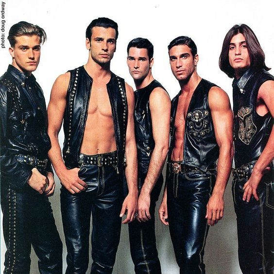 Image result for Gianni Versace with Male Models