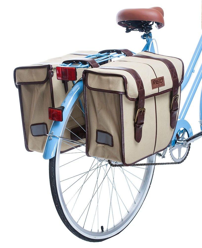 Reid Vintage Pannier Bags Bicycle Panniers Bike Bag Pannier Bag