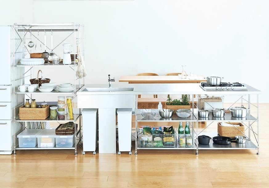 Kitchen Muji Stainless Steel Unit Shelf Kitchen 历届获奖作品