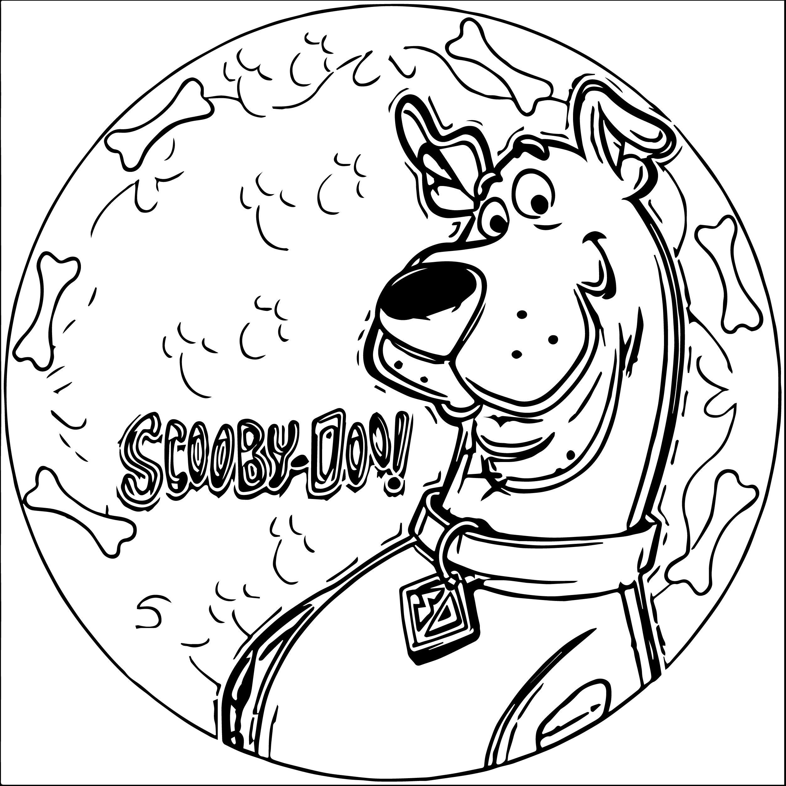 Scooby Doo Coloring Pages Scooby Doo Coloring Pages Valentine