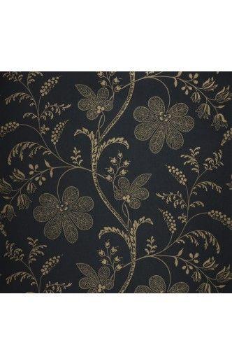 Papier peint classique anglais Fleurs  papier peint direct, vente