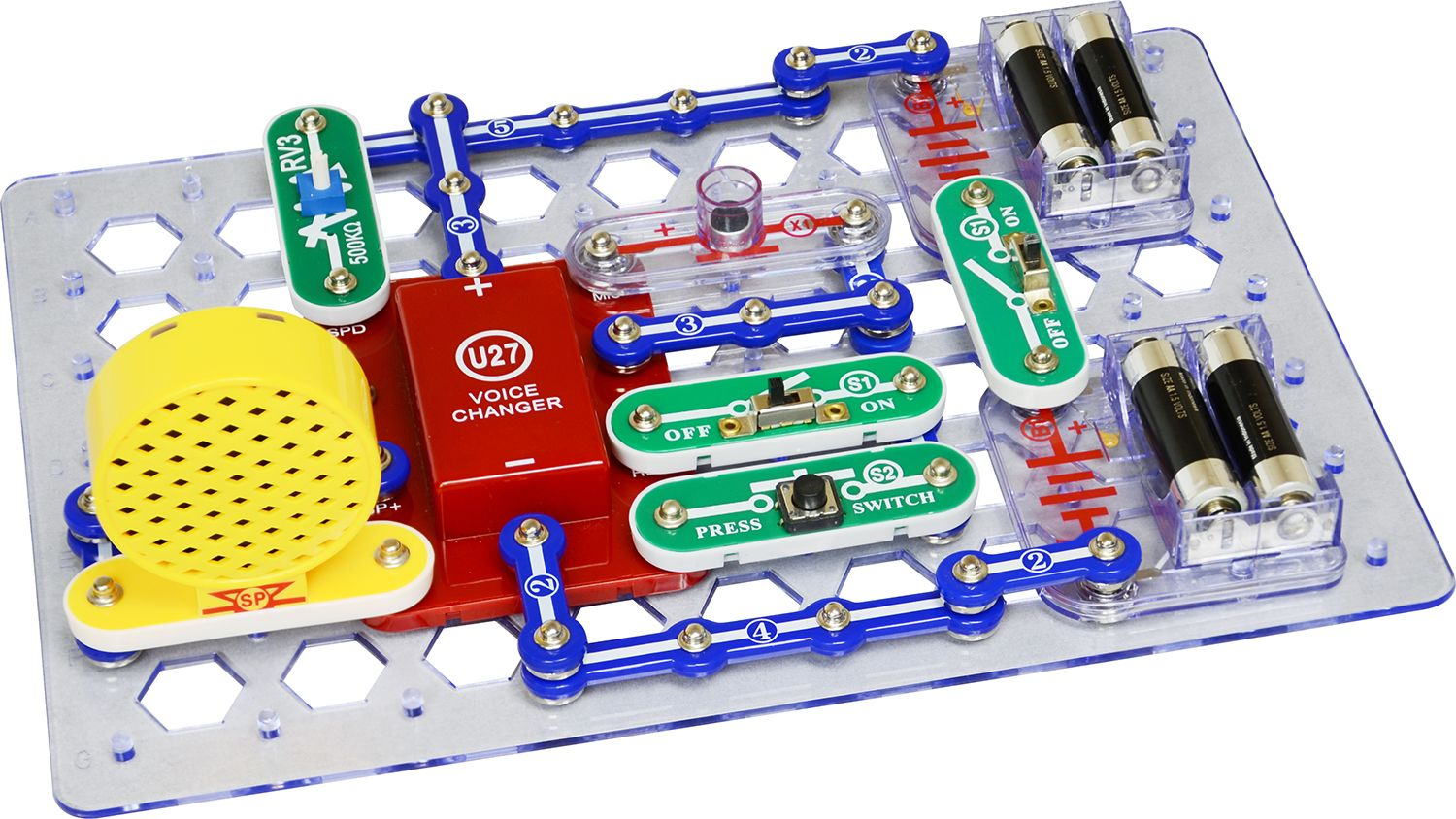 snap circuits extreme 750in1 kit w computer interface robotshop
