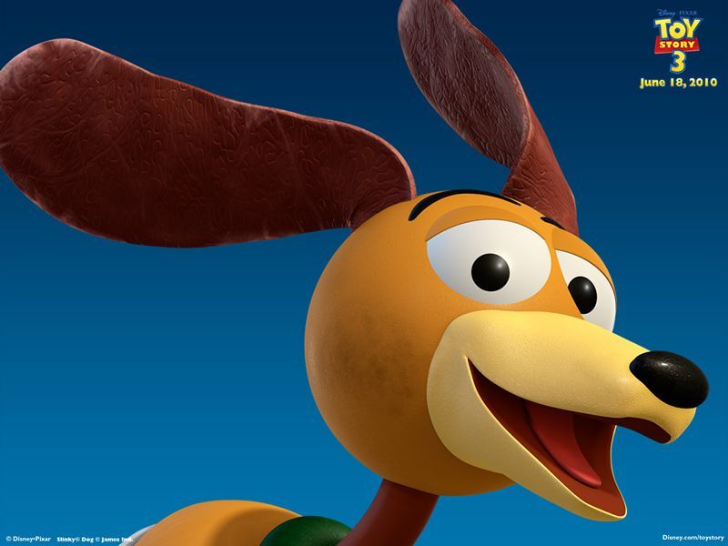 Toy Story 3 Desktop Wallpaper Number 6 Slinky Dog