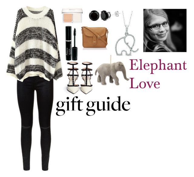 """""""Elephant Love"""" by charbear231 ❤ liked on Polyvore featuring 7 For All Mankind, Christian Dior and Zales"""
