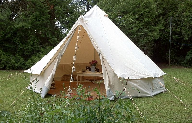 canvas tent | advantage of canvas is that it remains much cooler than a nylon tent & canvas tent | advantage of canvas is that it remains much cooler ...