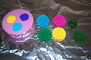 mold for polymer clay. make earings, necklaces felt flowers
