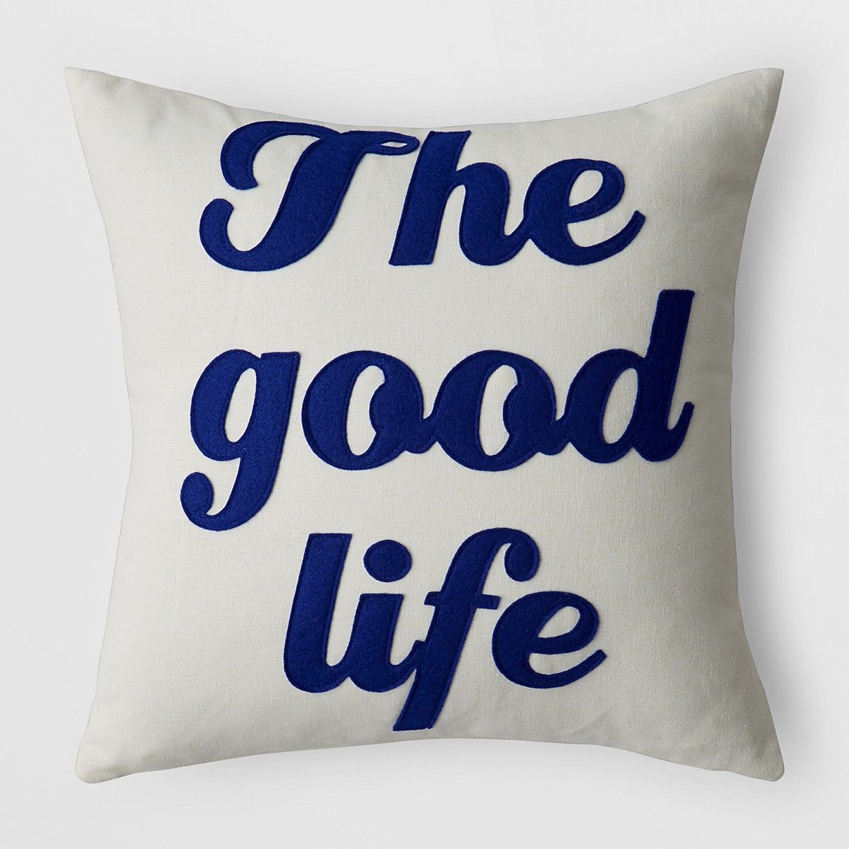 Alexandra Ferguson The Good Life Decorative Pillow 16 X 16 Bloomingdale S Decorative Pillows Pillows Life Is Good