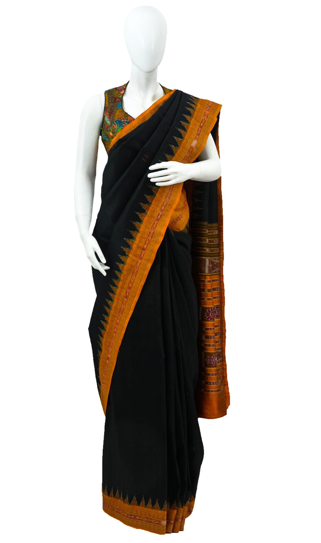 Pure silk saree pin by vibha singhal on handwoven silk ikat sarees  pinterest
