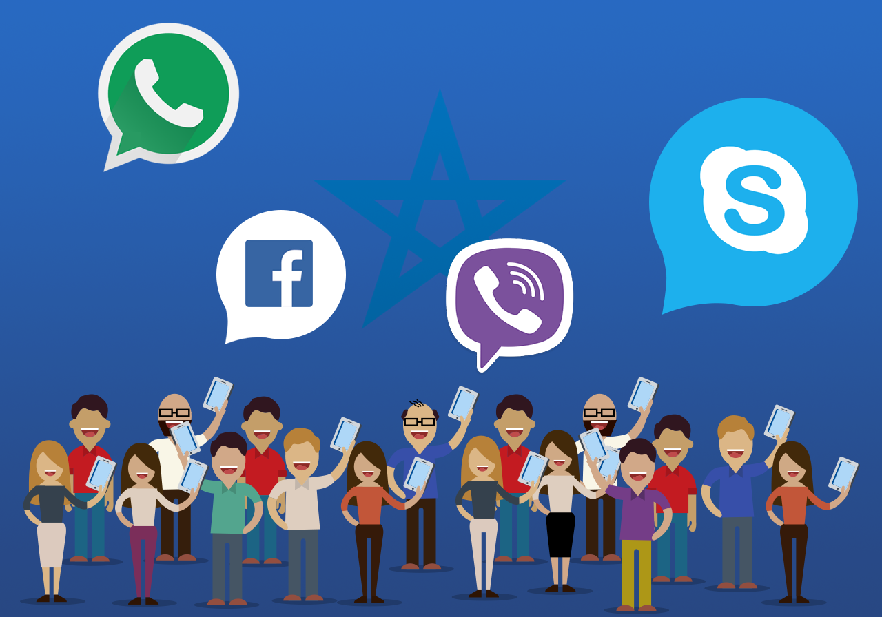 Access Whatsapp, Viber and Skype in Morocco (With images
