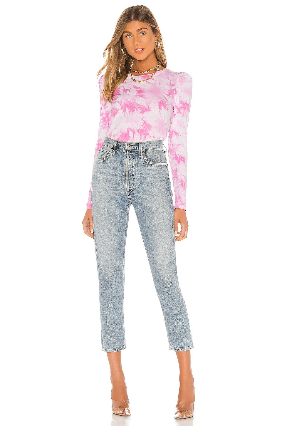 Generation Love Josephine Top in Pink & White, #sponsored, #affiliate, #Josephine, #White, #Pink, #Love