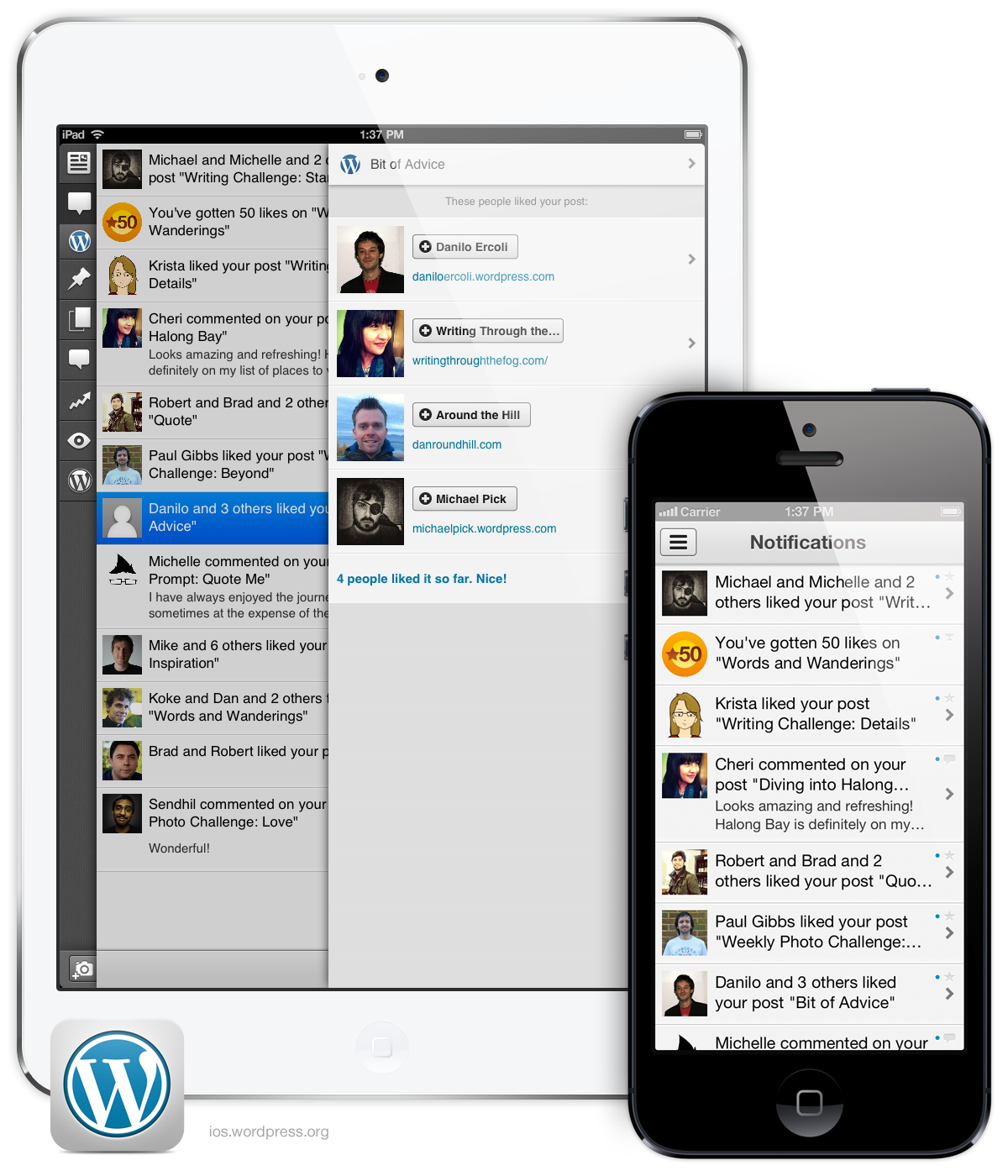 Get Notifications On the Go With WordPress for iOS
