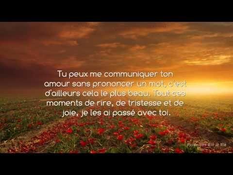 Po me d 39 amour pour toi maman proverbe et citation youtube poeme citation texte - Citation fete des meres ...