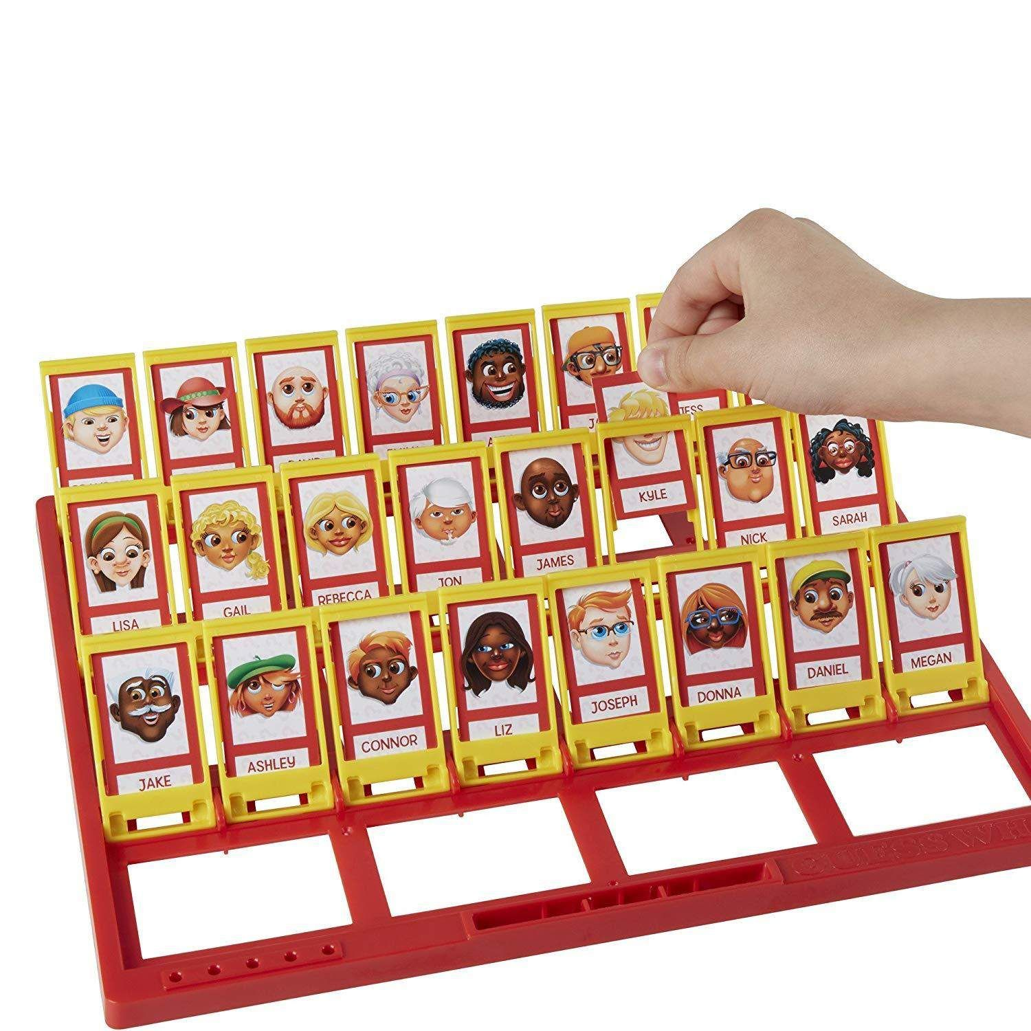 Hasbro Classic Board Games (Clue Trouble Guess Who
