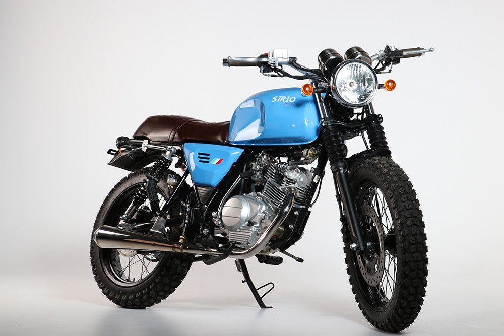 Orcal Sirio 15 Cafe Bike Cafe Bike Scrambler Honda