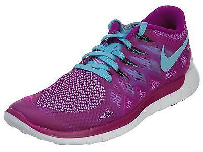 Nike Free 5.0 Womens 642199 504 Fuchsia Flash Running