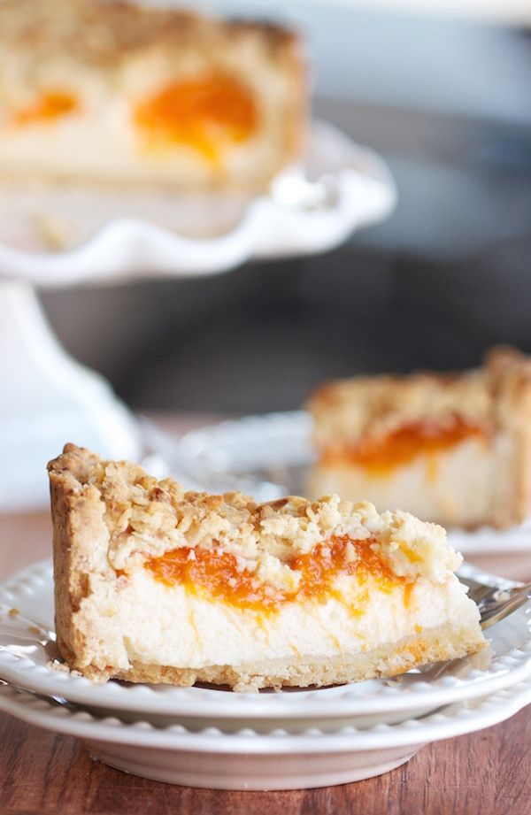 Russian Apricot Cheese Cake