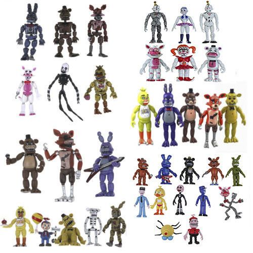 Five nights at freddy/'s fnaf world pvc action figure Ballora baby circus