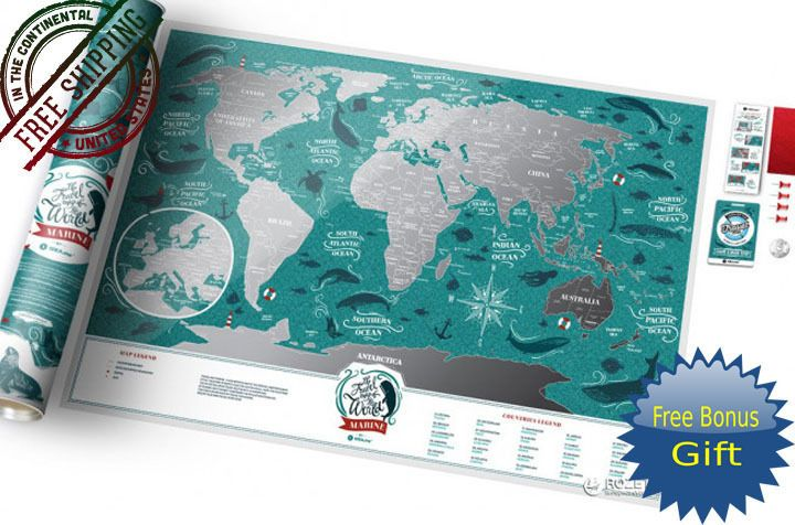 Best scratch off world map scratch off map scratch map travel map best scratch off world map scratch off map scratch map travel map marine world gumiabroncs Images