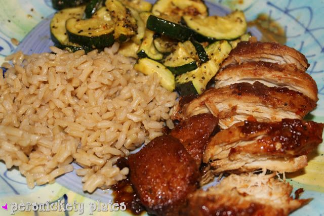 Persnickety Plates: Crock Pot Honey Bourbon Chicken @Kimberli Deckard just for u!