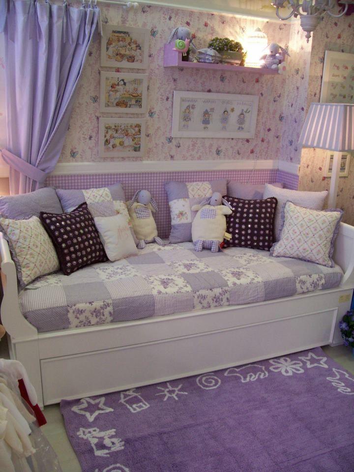 Alfombra prado lila ni os alfombras infantiles - Alfombras habitacion ninos ...