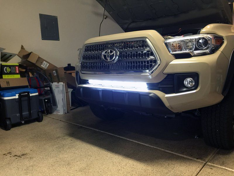 30 Light Bar Install Easier Than You Might Think Tacoma Accessories Tacoma Truck Toyota Tacoma Accessories