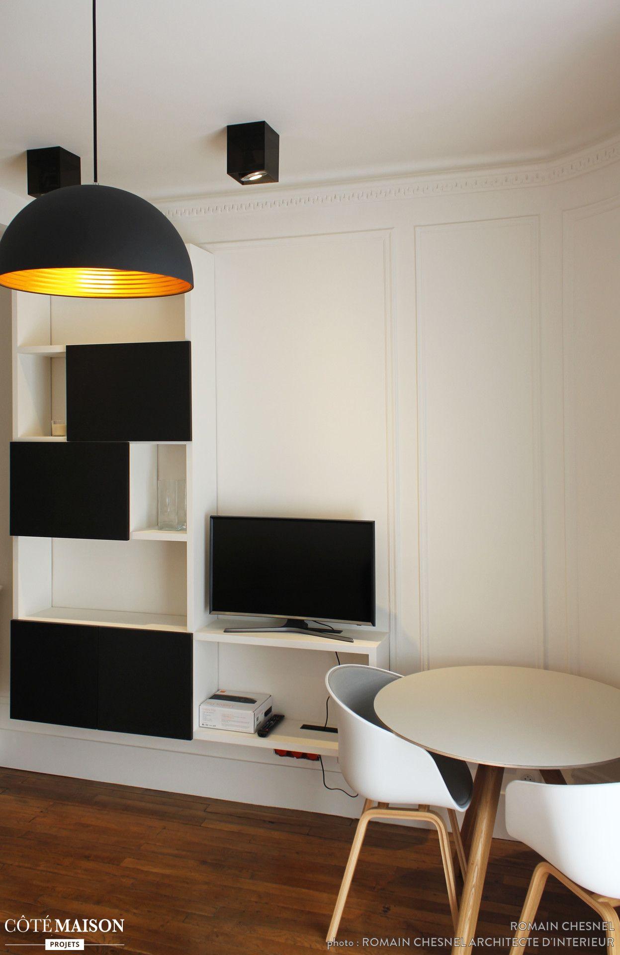 Design Scandinave Et Couleurs Neutres Studio Petit Appartement  # Couleurs Meubles Scandinaves