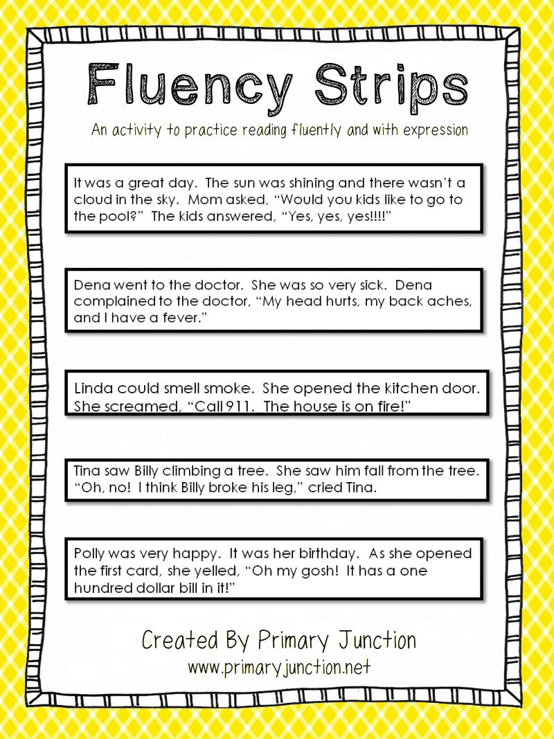 Fluency Strips Pdf Google Drive Reading Fluency Teaching Fluency Reading Classroom [ 1067 x 800 Pixel ]