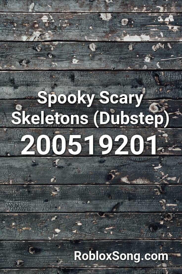 scary songs roblox id