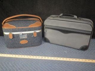 Luggage sears Small Grey Carry on Bag & Vintage Ventura Train ...