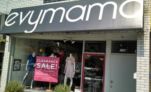 Featured Boutique for August 2014: @evymama in Toronto, ON
