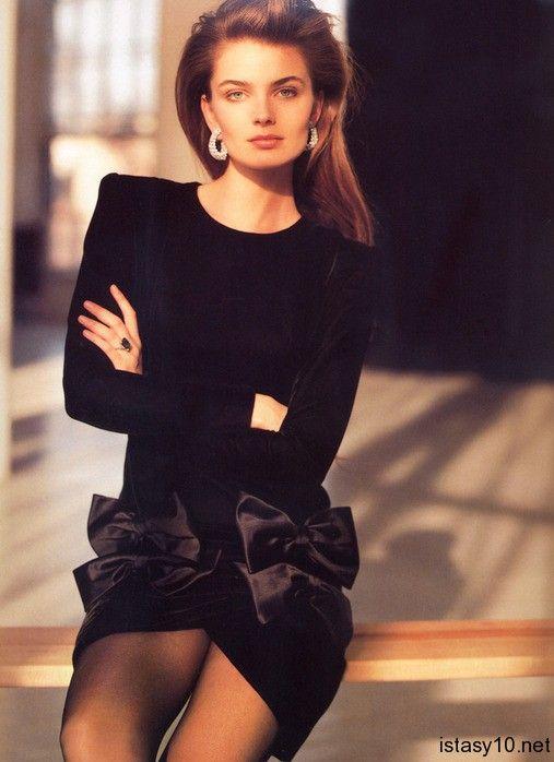 Paulina Porizkova Vogue France 1987 Eighties