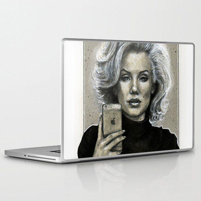 Marilyn Selfie Laptop & iPad Skin by artseb26