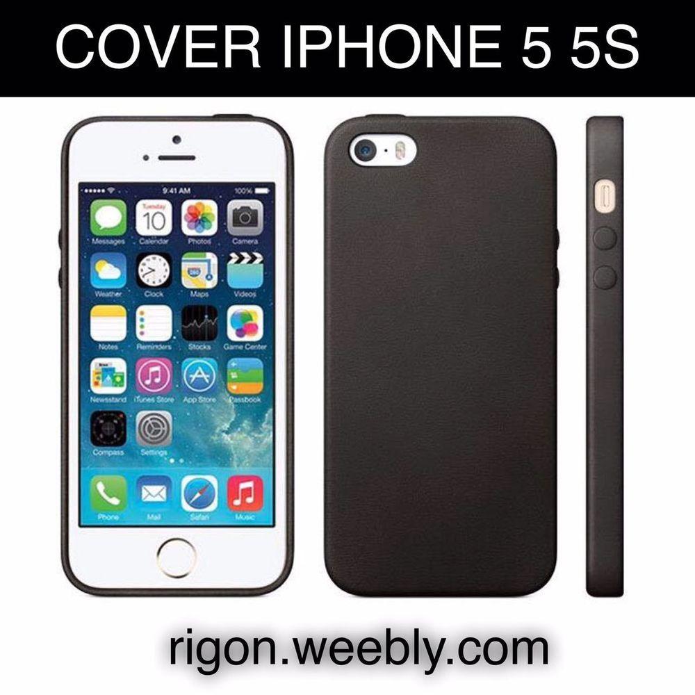 iphone 5 nero con cover