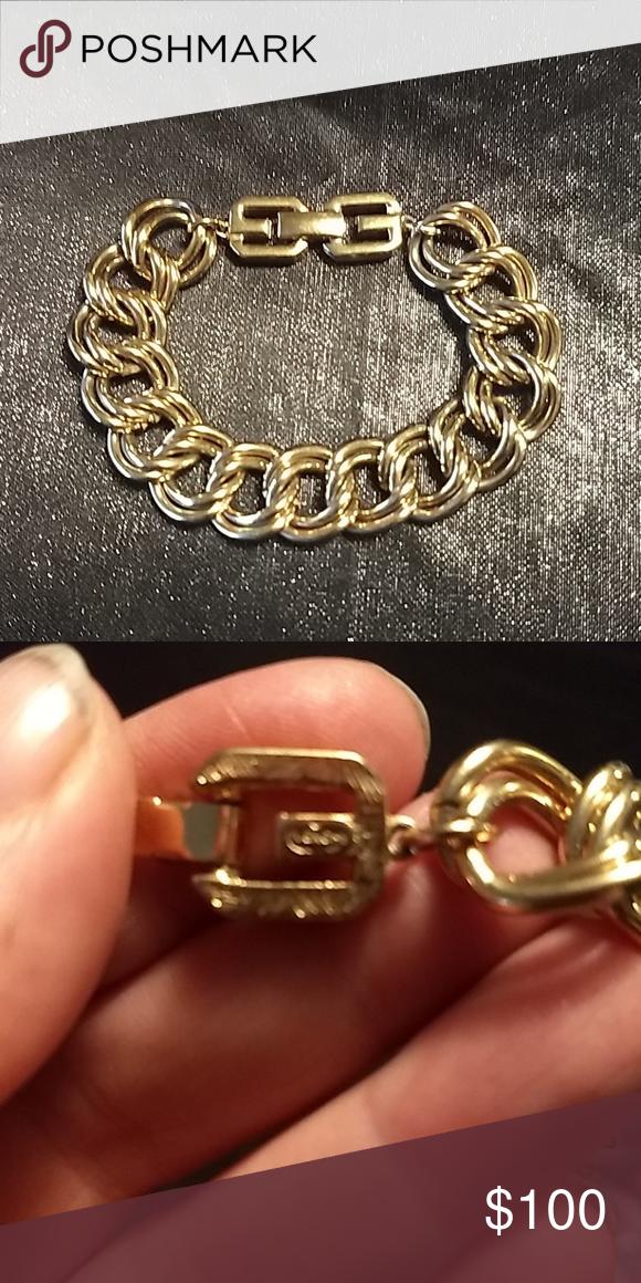 Flash Sale Givenchy 8 Bracelet Gold Tone Givenchy Jewelry Gold Bracelet Givenchy