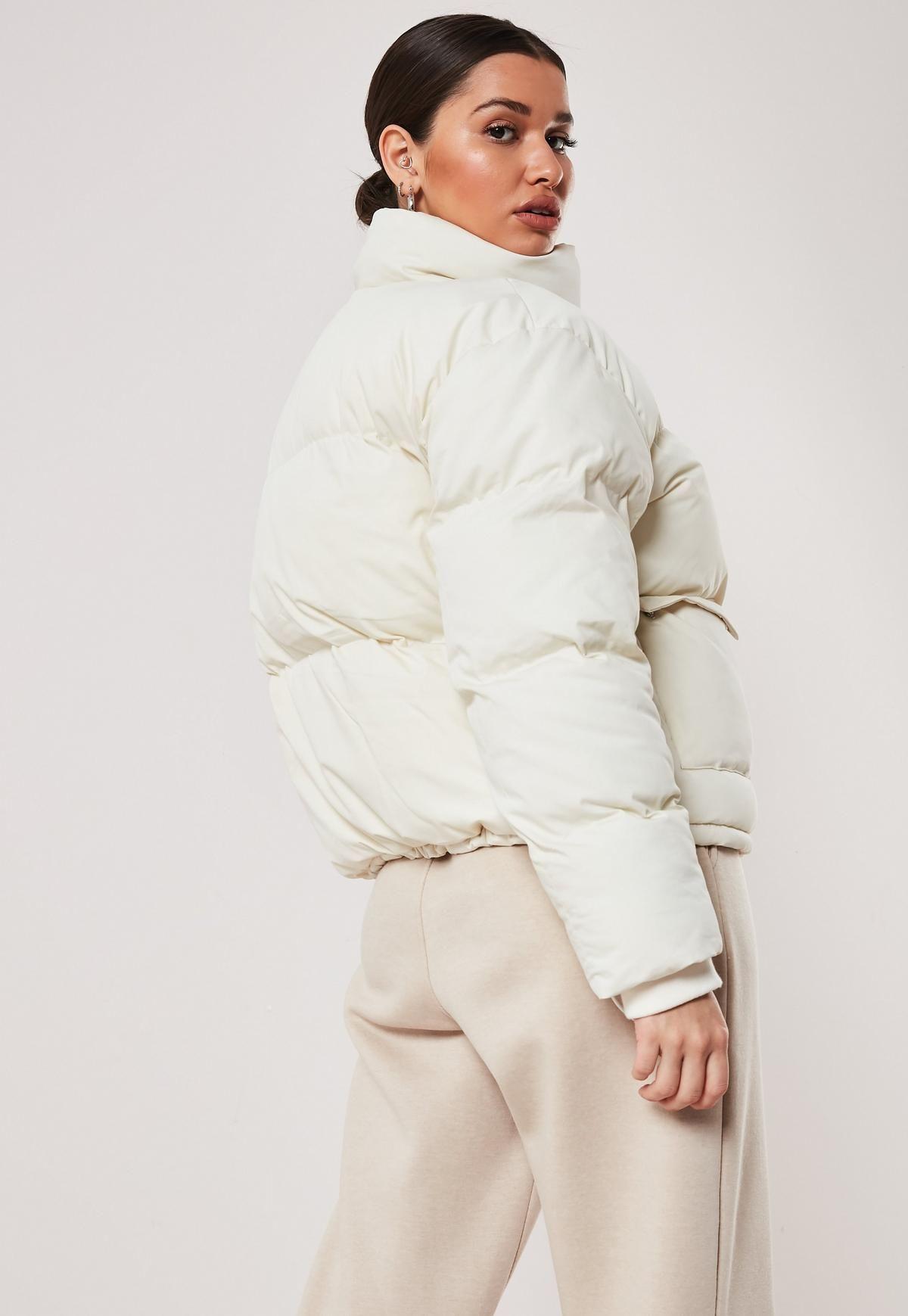 Cream Ultimate Puffer Jacket Puffer Jacket Outfit White Puffer Jacket White Puffer [ 1739 x 1200 Pixel ]