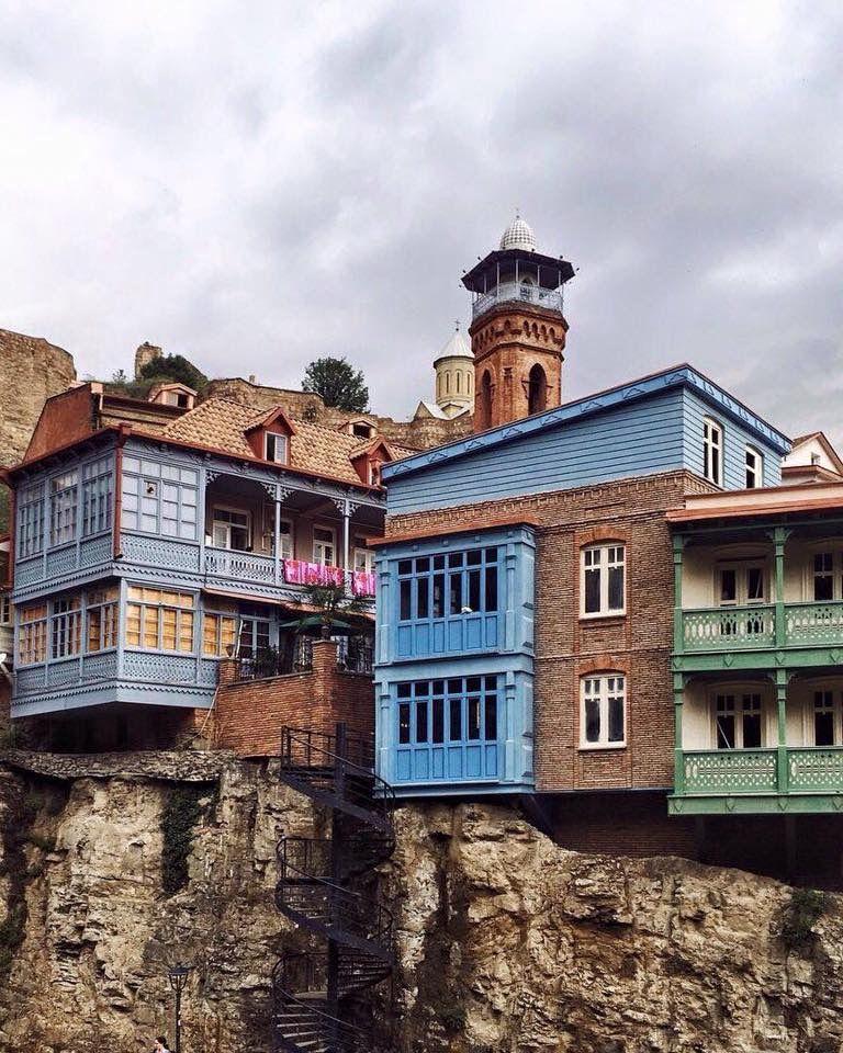 Старинные грузинские дома фото